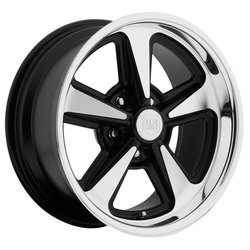 US Mag Wheels US Mag Wheels Bandit U109 - Black Machined