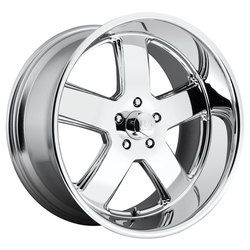 US Mag Wheels Hustler U116 - Chrome - 22x11