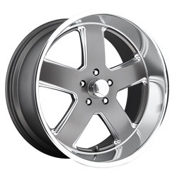 US Mag Wheels US Mag Wheels Hustler U118 - Matte Gunmetal