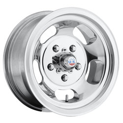 US Mag Wheels Indy U101 - Polished Rim - 17x10