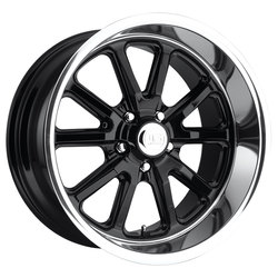 US Mag Wheels Rambler U121 - Gloss Black Rim - 22x11