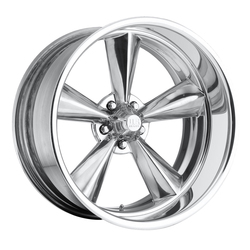 US Mag Wheels Standard U201 - Polished Rim - 18x7