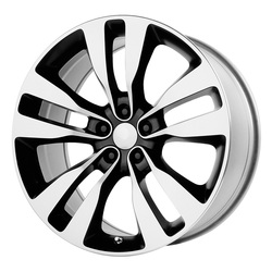 Topline Replica Wheels V1167 2012 Charger SRT-8 - Gloss Black/Machined