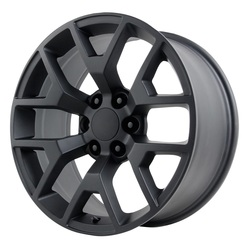 Topline Replica Wheels 2014 GMC SIERRA - Satin Black