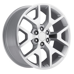 Topline Replica Wheels 2014 GMC SIERRA - Silver/Machined