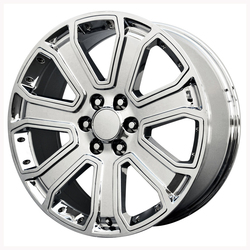 Topline Replica Wheels 2015 GMC DENALI - Chrome