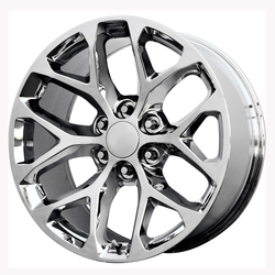 Topline Replica Wheels 2015 GMC SIERRA SNOWFLAKE - Chrome