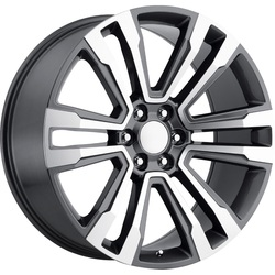 Topline Replica Wheels 2017 GMC DENALI - Gunmetal/Machined