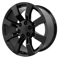 Topline Replica Wheels DENALI / ESCALADE - Satin Black