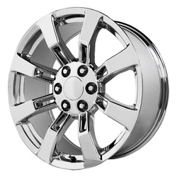 Topline Replica Wheels DENALI / ESCALADE - Chrome