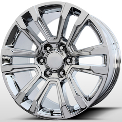 Topline Replica Wheels V1184 2017 GMC Denali - Chrome