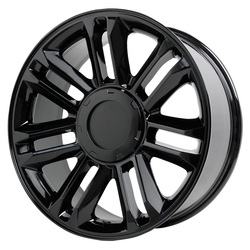 Topline Replica Wheels PLATINUM ESCALADE - Gloss Black