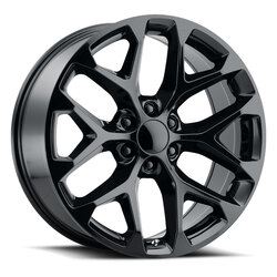 Replica by Voxx Wheels Snowflake - Gloss Black Rim