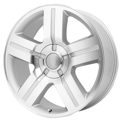 Topline Replica Wheels V1177 Texas Edition - Silver/Machined