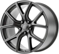 Topline Replica Wheels Trackhawk - Matte Vapor Rim