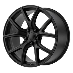 Topline Replica Wheels Trackhawk - Satin Black Rim