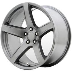 Topline Replica Wheels V1185 2018 Hellcat - Matte Vapor Rim - 20x11