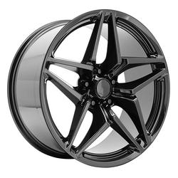Topline Replica Wheels 2019 Corvette ZR-1 - Gloss Black Rim