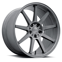 Verde Wheels Verde Wheels VFF02 - Brushed Dark Palladium - 20x8.5