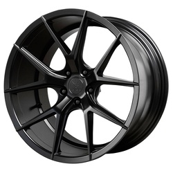 Verde Wheels V99 Axis - Satin Black Rim - 22x10.5