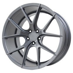 Verde Wheels V99 Axis - Matte Graphite Rim - 22x10.5