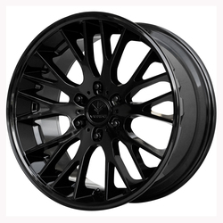 Verde Wheels V22 Duo - Gloss Black - 24x10