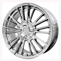 Verde Wheels V10 Influx - Chrome Rim