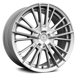 Verde Wheels V10 Influx - Gloss Silver/Machined Face Rim