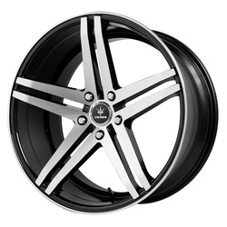 Verde Wheels V39 Parallax - Gloss Black/Machined Rim - 22x10.5