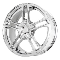 Verde Wheels V36 Protocol - Chrome Rim - 17x7