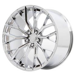 Verde Wheels V11 Vex - Chrome Rim