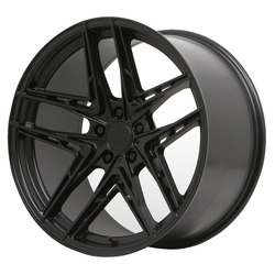 Verde Wheels V12 Incise - Satin Black Rim - 20x10.5
