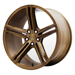 Verde Wheels VFF03 - Brushed Gloss Bronze Rim - 20x12