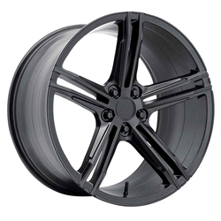Verde Wheels VFF03 - Satin Black Rim - 20x9