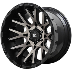 V-Rock Wheels VR10X Recoil - Satin Black/Dark Machined Tint Rim - 20x12