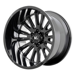V-Rock Wheels VR11 Anvil - Gloss Black - 22x12