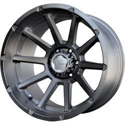 V-Rock Wheels VR13 Tactical - Brushed w/Dark Tink - 22x12