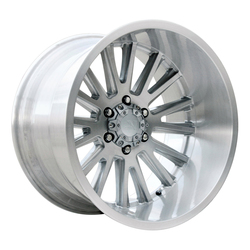 V-Rock Wheels VR11 Anvil - Brushed Aluminum - 22x12