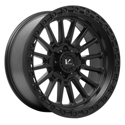 V-Rock Wheels VR15 Strike - Satin Black Rim - 17x10