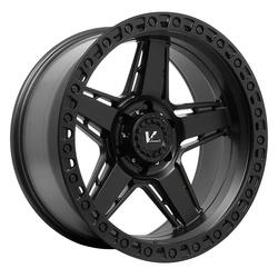 V-Rock Wheels VR16 Raid - Satin Black Rim - 20x12