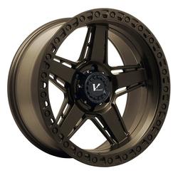 V-Rock Wheels VR16 Raid - Satin Bronze Rim