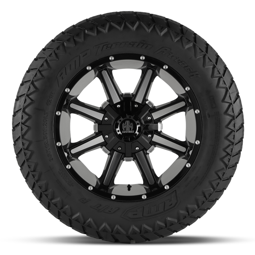 AMP Tires AMP Tires Terrain Attack A/T A - LT305/60R18 124/121R 10 Ply