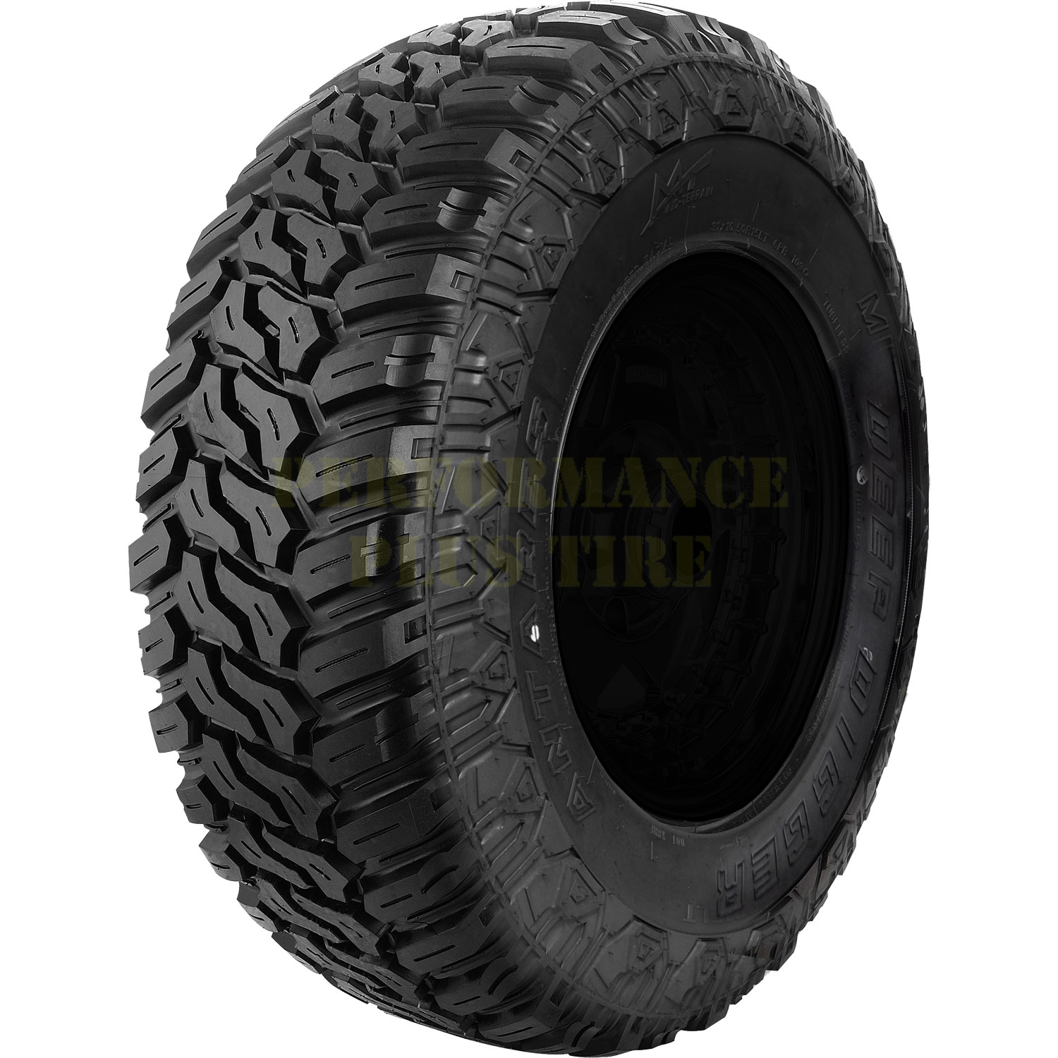 Antares Tires Deep Digger Light Truck/SUV Mud Terrain Tire - 35x12.50R17 121Q