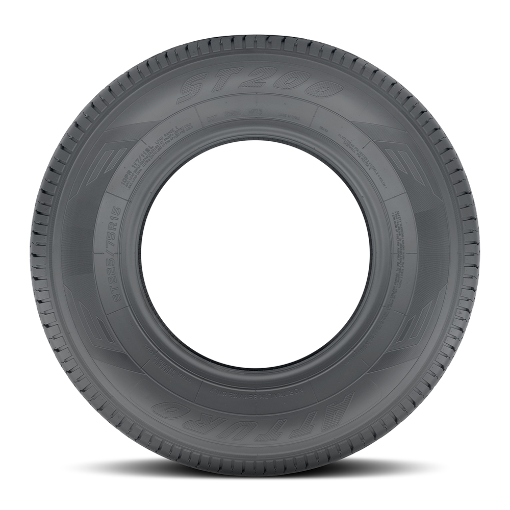 Atturo Tires ST200 Trailer Tire - ST225/75R15 117/112L 10 Ply