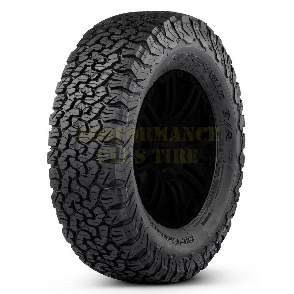 BFGoodrich Tires All Terrain T/A KO2 Light Truck/SUV All Terrain/Mud Terrain Hybrid Tire - LT215/75R15 100S 6 Ply