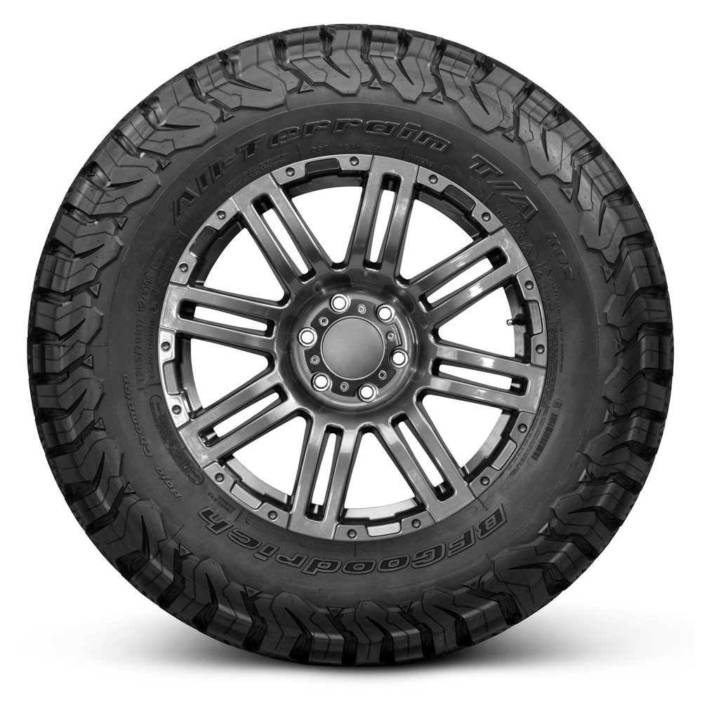 All Terrain T/A KO2 - LT255/70R17 121S 10 Ply