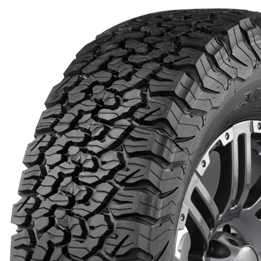 BFGoodrich Tires All Terrain T/A KO2 Light Truck/SUV All Terrain/Mud Terrain Hybrid Tire - LT225/65R17 107S 8 Ply