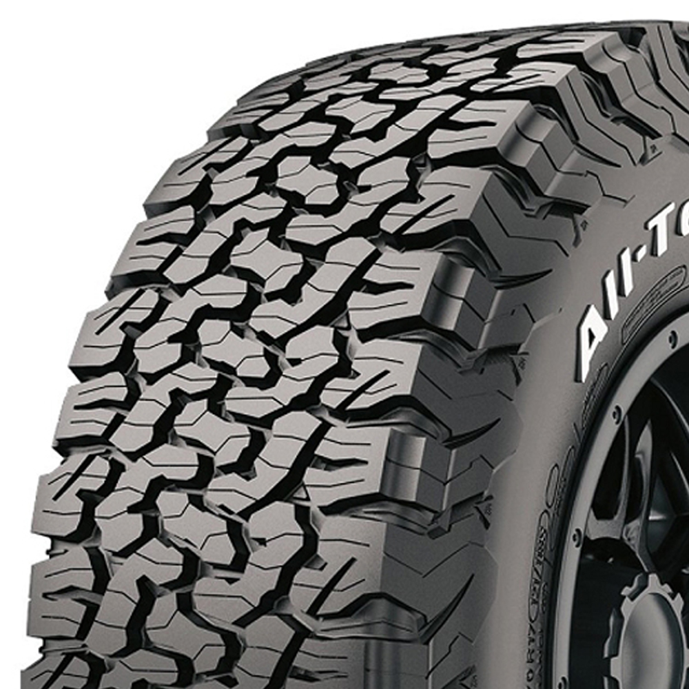 BFGoodrich Tires All Terrain T/A KO2 Light Truck/SUV All Terrain/Mud Terrain Hybrid Tire - LT295/75R16 128R 10 Ply