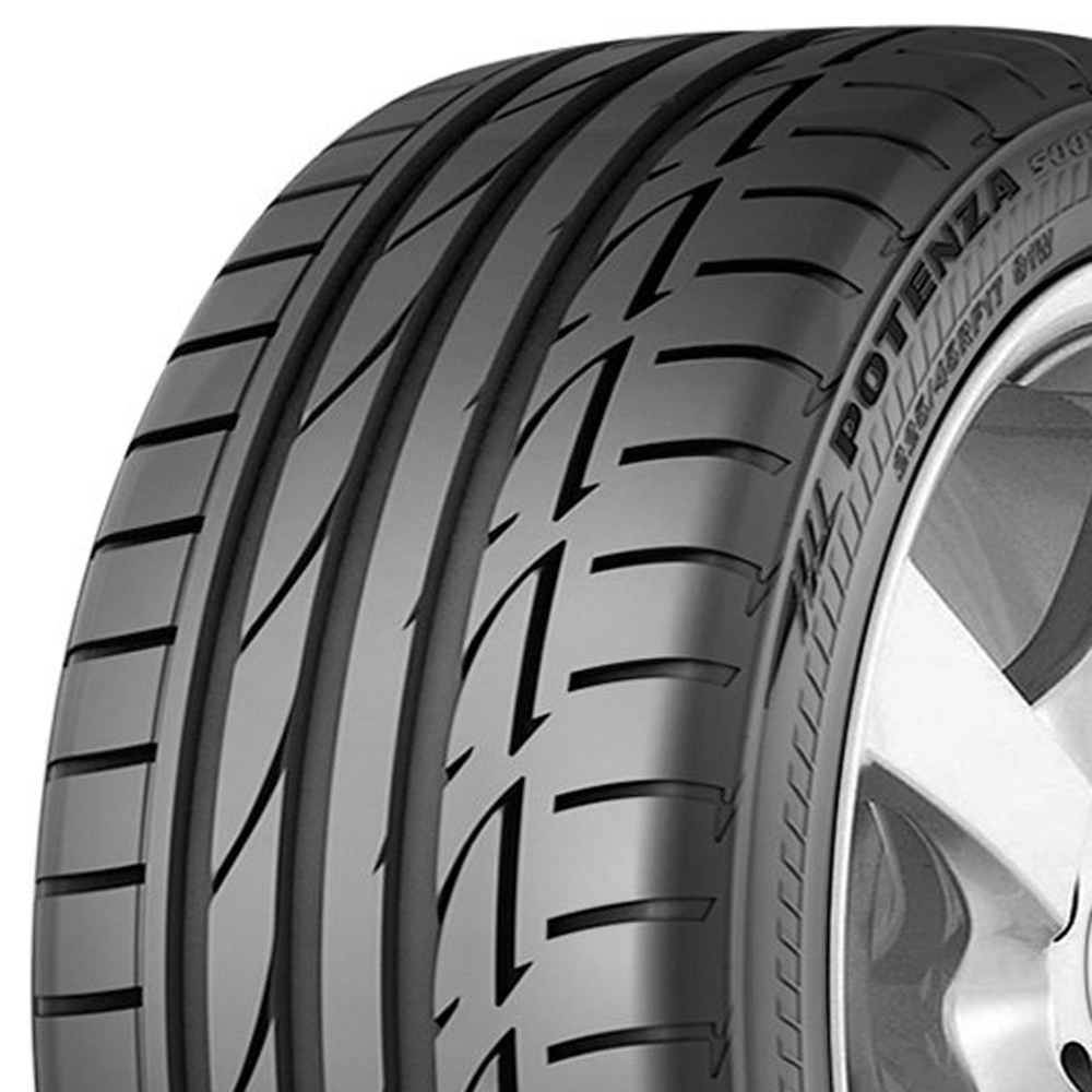 Bridgestone Tires Potenza S001 Runflat Passenger Summer Tire - 255/45R17 98W