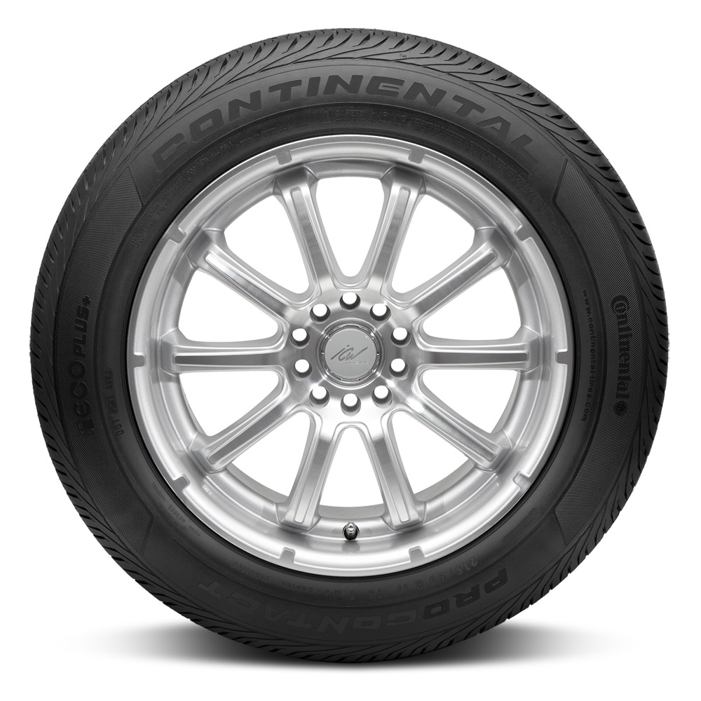 Continental Tires ContiEcoContact EP Passenger All Season Tire - 175/55R15 77T